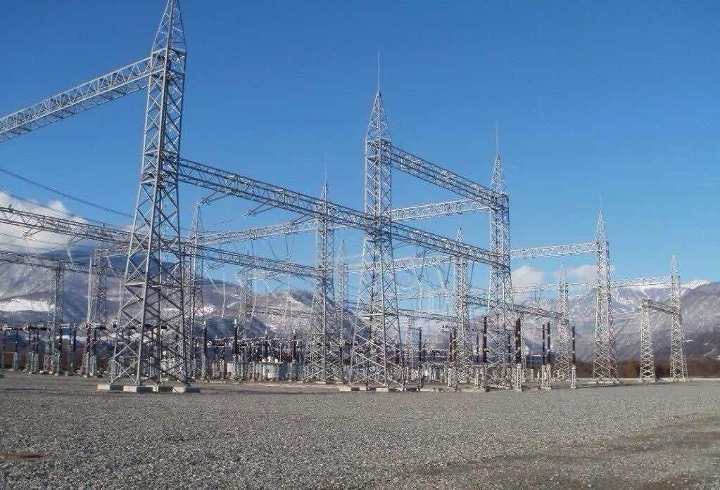 500/220 kV Substation JVARI near the town of Zugdidi