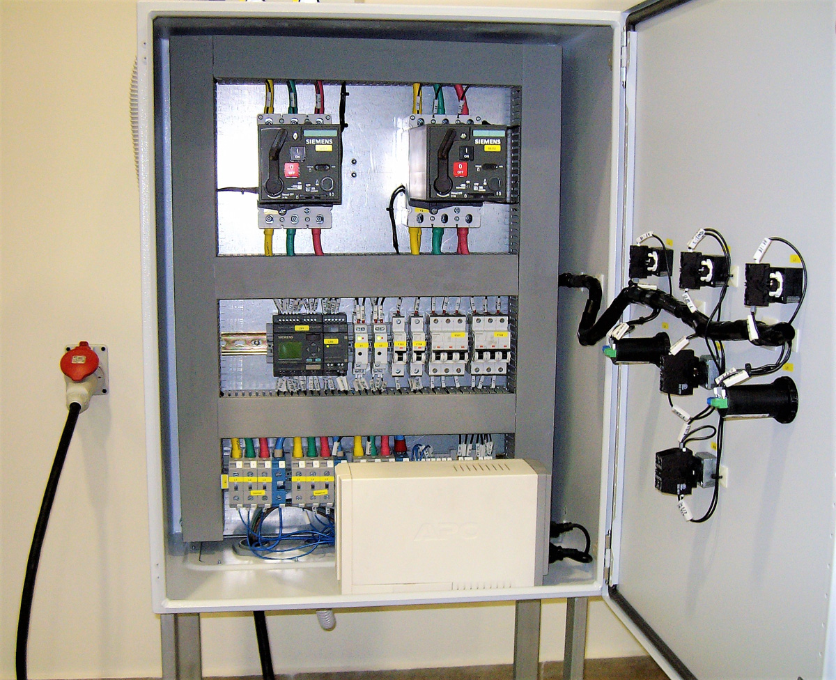 Automatic Transfer Switch (ATS) Control Panels for Low